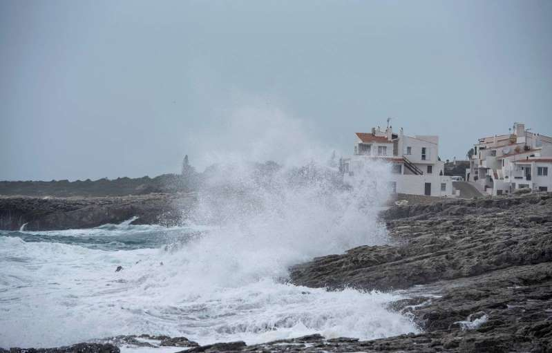 La tempête Elsa fait cinq morts en Espagne et au Portugal