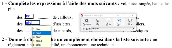 WordQ 5 : nouvelle version avec lecteur de PDF