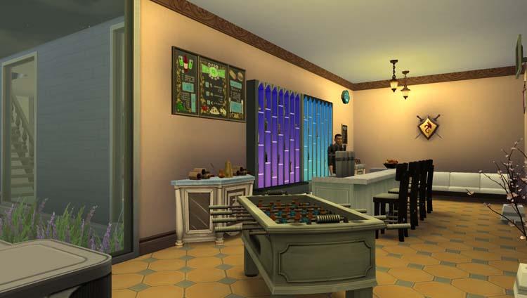 Sims 4, le village créole