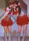 Risa Niigaki 新垣里沙 Sayumi Michishige 道重さゆみ Morning Musume Concert Tour 2012 Haru Ultra Smart