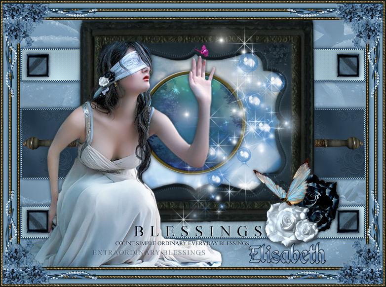 "Ma réalisation du tuto ""Blessing"""