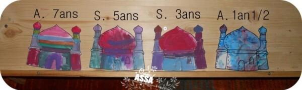 masjid 4 enfants