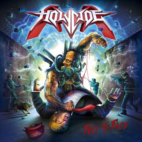 HOLYCIDE - Les détails du nouvel album Fist To Face