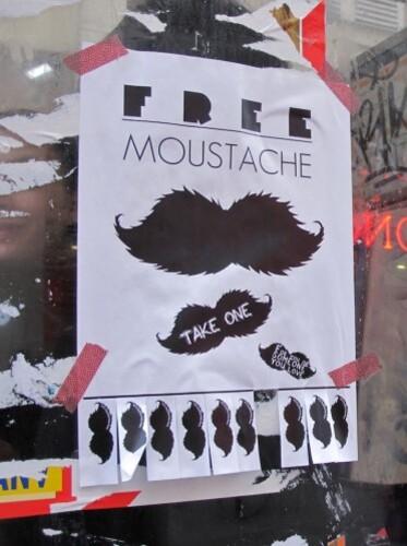 street-art moustache gratuite 2