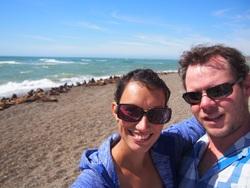 Heureusement au sud de Caleta Olivia, une colonie de lions de mer a élu domicile