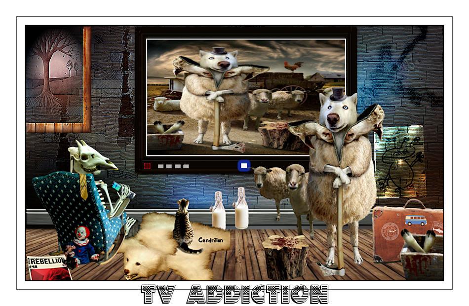 TV Addiction - Renée Graphisme