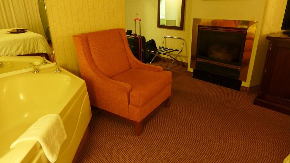 Une chambre relaxante...
