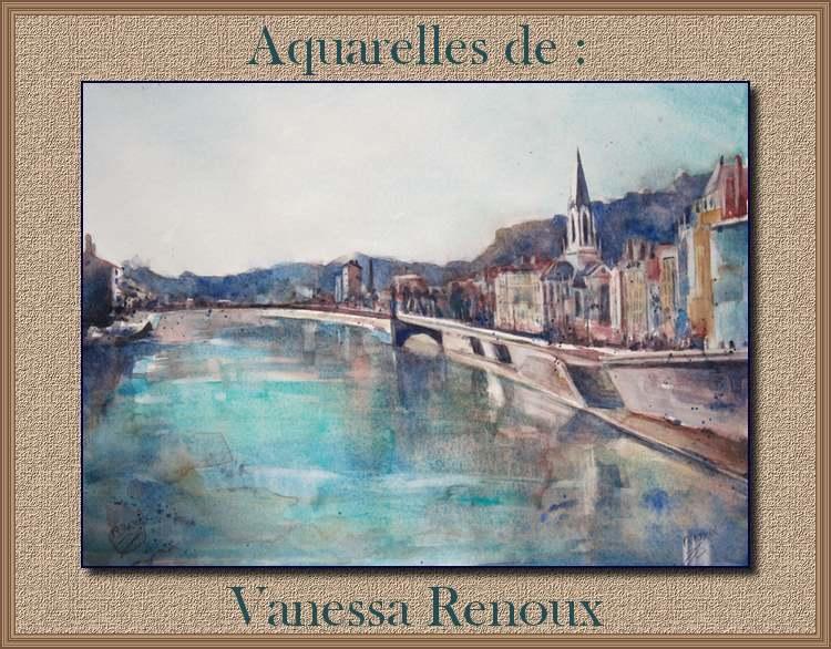 Aquarelles de  : Vanessa Renoux
