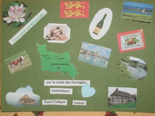 2ème envoi carte postale sur nos régions