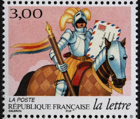 Timbre La lettre au fil du temps : chevalier (3153) - La Poste