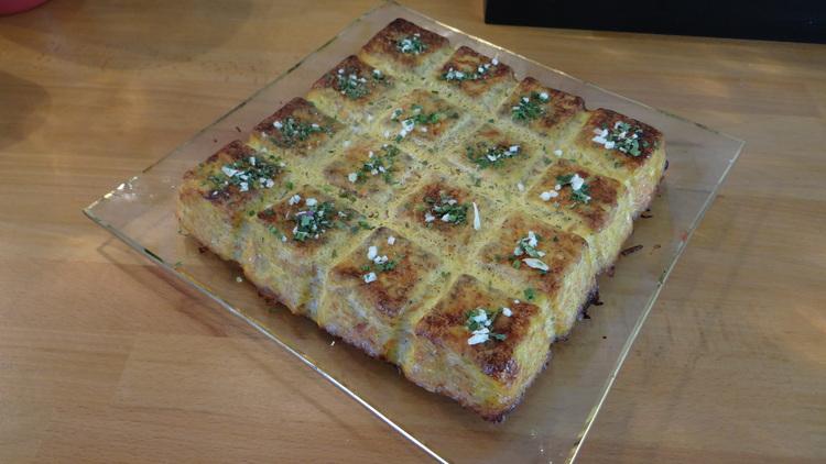 Mon Gâteau de Pommes de Terre-Carottes oignons