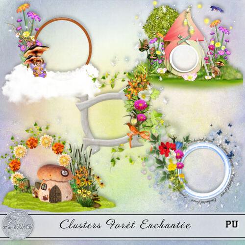 Addons - clusters Foret Enchantée