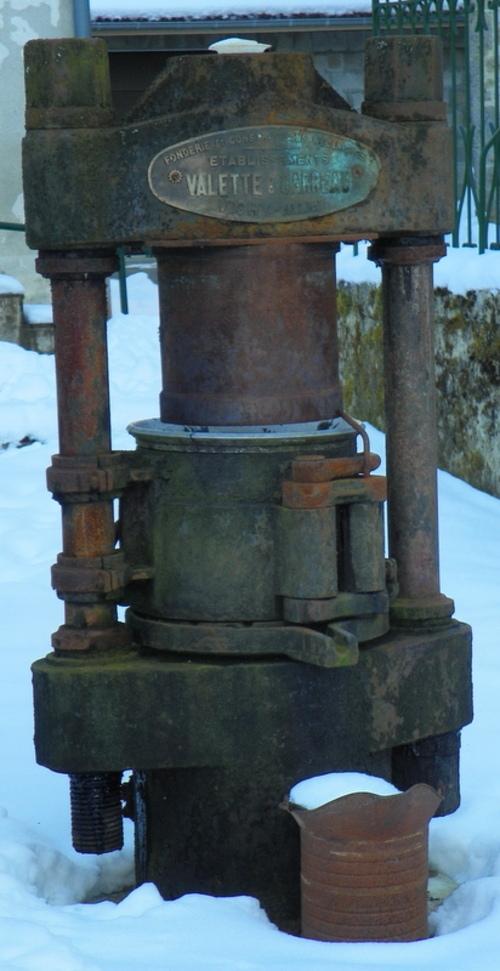 Le pressoir à huile de Conand