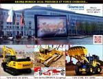 BAUMA MUNICH 2016: PRESENCE ET FORCE CHINOISE...