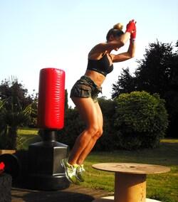 Cet été je m'entraîne dans mon jardin !!!