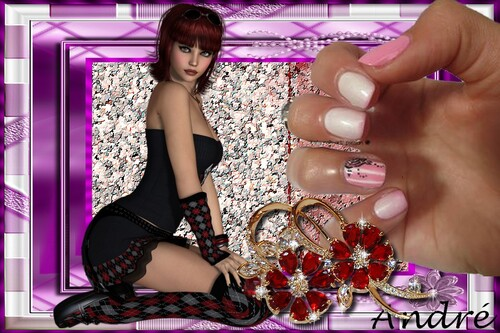 Nails art de Katy