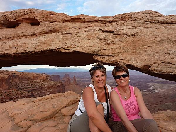 Jour 6 Canyonlands Mesa Arch nous