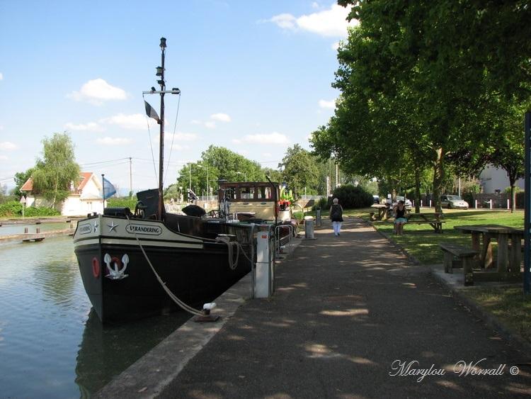 Souffelweyersheim (67): Promenade au bord du canal