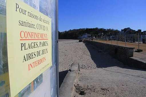 La plage bretonne de Binic-Etables-sur-Mer dans les Côtes d'Armor. (Photo d'Illustration).