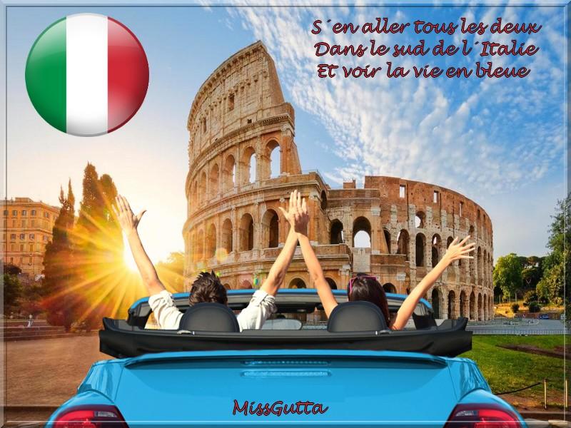 """Défi pour amie Marjolaine """" voyage en Italie """""""
