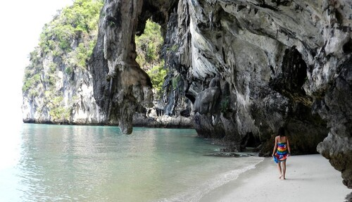 THAILANDE L'île Hong en bateau