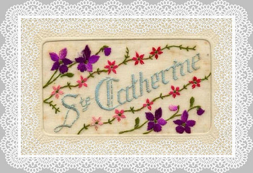 carte sainte catherine trouver sur le net