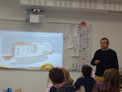 Interview de Daniel Lombard : architecte de notre école ré-enchantée
