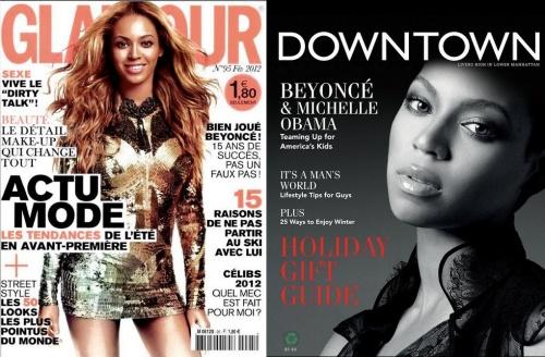 Nouvelles couvertures pour Beyoncé!