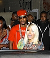 CANDIDS: LOVE MORE (BTS) + NICKI QUITTE LE CLUB SUPPER