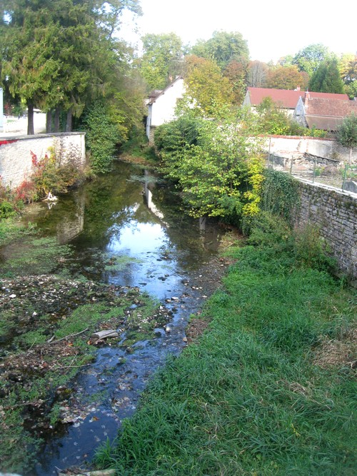 La Seine à Châtillon , quelques photos de René Drappier