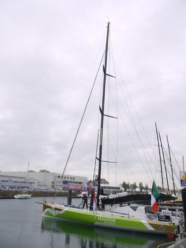 Bioline bateau irlandais