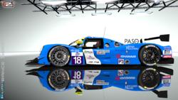 16ELMS Yvan Muller Racing Ligier JS P3 Nissan