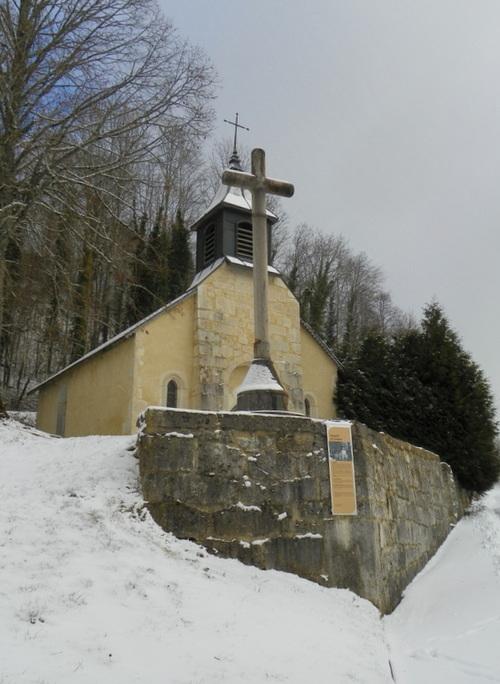La chapelle Saint Pierre à Lompnès