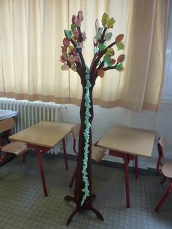 100 jours d'école arbre aux 100 feuilles et 100 mots