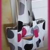 Un sac en toile cirée