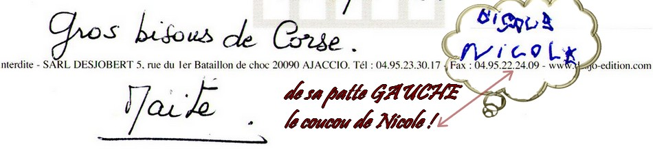 Carte postale pour mes ami(e)s !