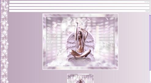Papier Fantasy Ange 01