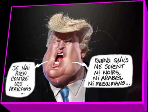 Caricature Trump (Humour ou réalité)