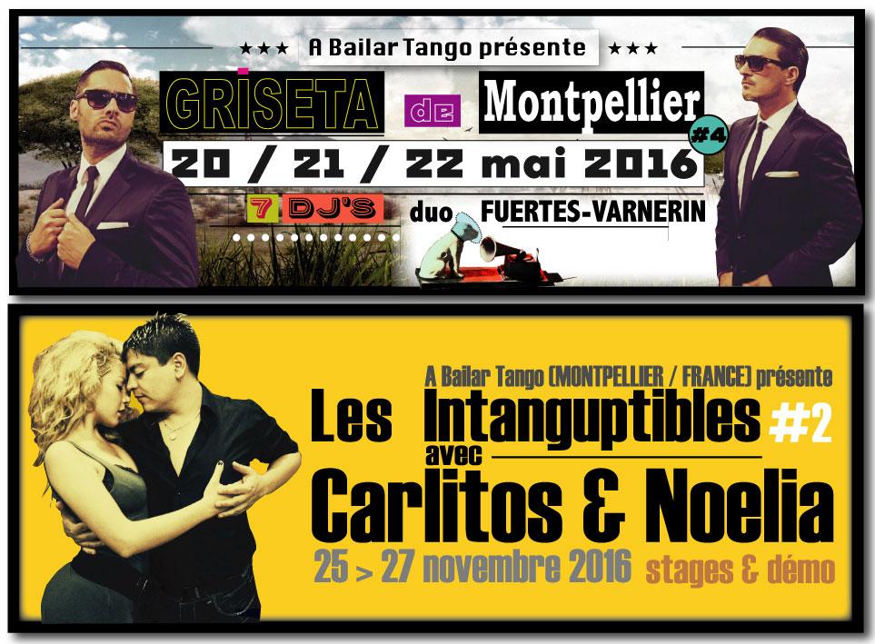 "★ ""GRISETA #4"" de Montpellier du 20>22 mai & bientôt Carlitos & Noelia ! ★"
