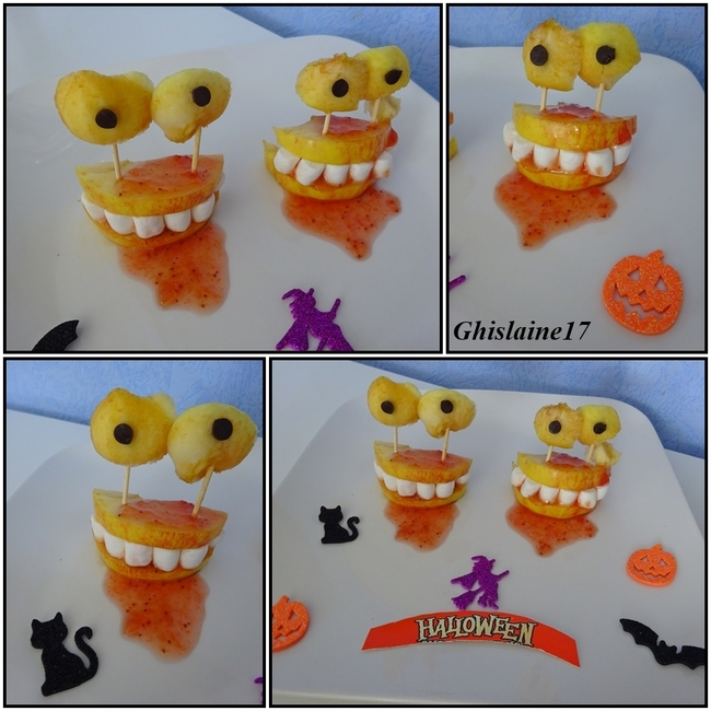 Dentiers-Monstres d'Halloween