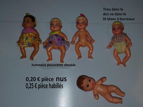 * Les petits & autres poupées