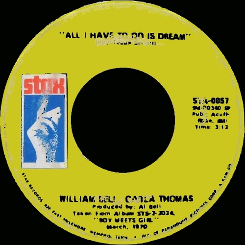 """William Bell : Album """" Bound To Happen """" Stax Records STS 2014 [ US ]"""