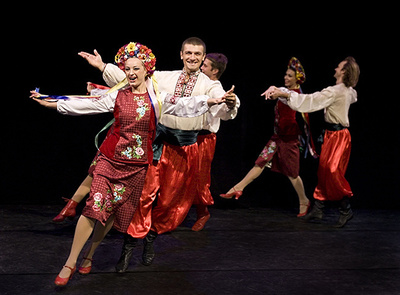 dance ballet folklore kalinka russian folk dance