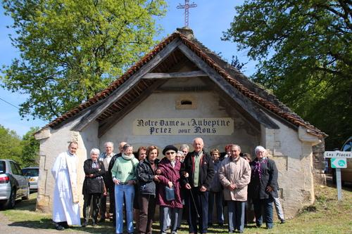 2 mai 2016 : Messe en la chapelle Notre Dame de l'aubépine