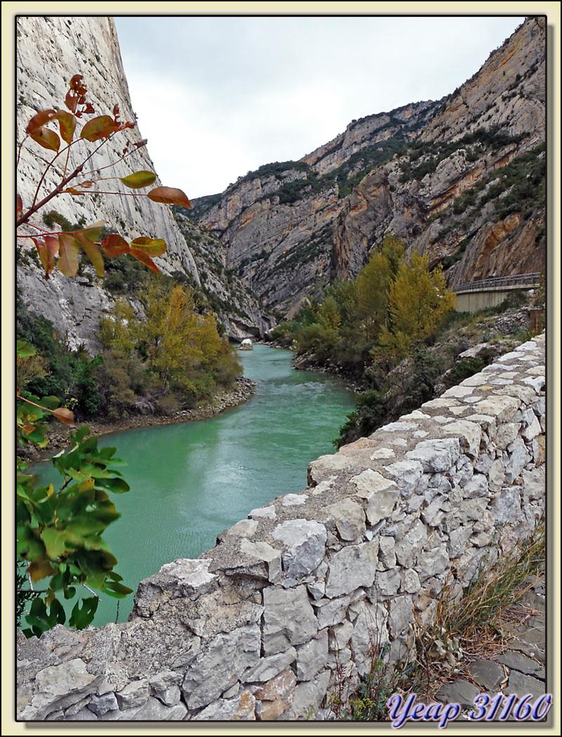 Riu Noguera Pallaresa - Congost (gorges) de Terradets - Pallars Jussà - Catalogne - Espagne