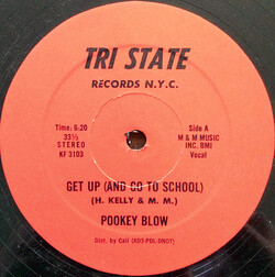 Pookey Blow - Get Up (And Go To School)