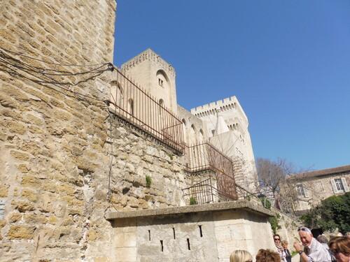 Le Palais des Papes en Avignon.