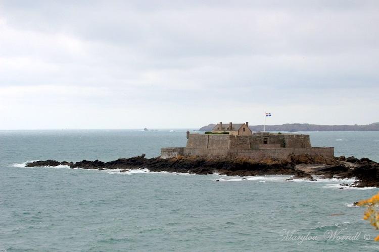 Bretagne : Saint-Malo, Fort National