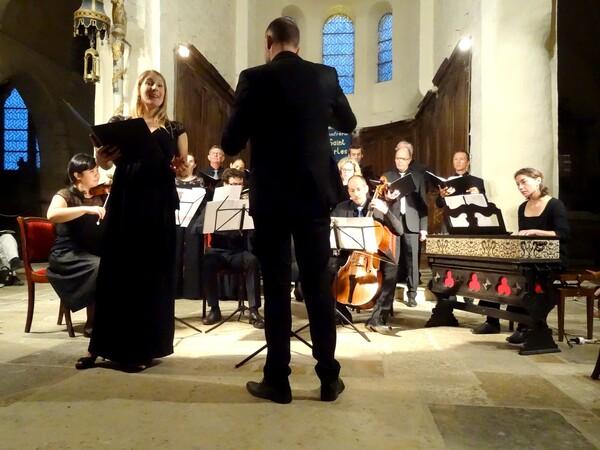 Le magnifique concert final de la Semaine de Saint-Vorles 2015, a sublimé la musique de Mozart