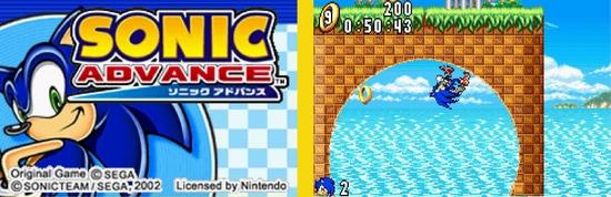 Sonic Advance z
